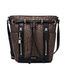 LOCK UP CROSS BODY BAG