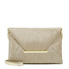 EDELYN COLLECTION CLUTCH  GOLD  hi-res