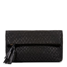 GENNA COLLECTION CLUTCH  BLACK  hi-res