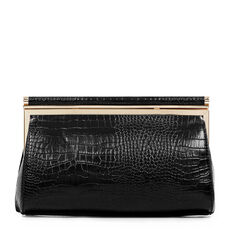 ALMA COLLECTION CLUTCH  BLACK  hi-res