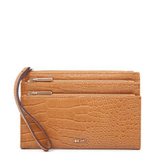 PRETTY LITTLE THINGS TRI ZIP WRISTLET  TAN  hi-res