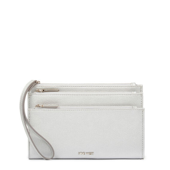 TABLE TREASURES TRI ZIP WRISTLET  SILVER  hi-res