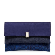 SANSY COLLECTION CLUTCH  INK  hi-res