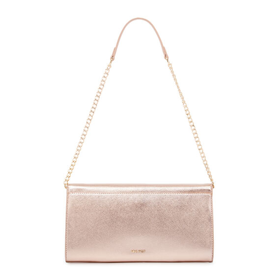 DATANA COLLECTION CLUTCH  ROSE GOLD  hi-res