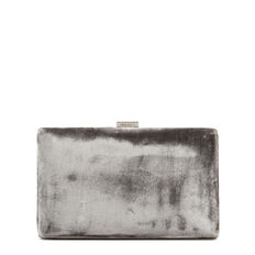 ISMAY COLLECTION CLUTCH  GREY  hi-res