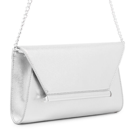 DATANA COLLECTION CLUTCH  SILVER  hi-res