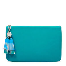 TABLE TREASURES CATRIN POUCH  BLUE MULTI  hi-res