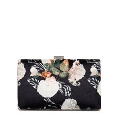 ISMAY COLLECTION CLUTCH  BLACK MULTI  hi-res