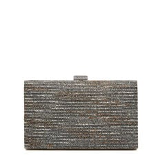 ISMAY COLLECTION CLUTCH  PEWTER  hi-res