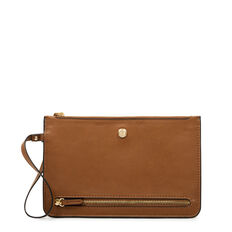 TABLE TREASURES TRAVEL POUCH  BROWN  hi-res