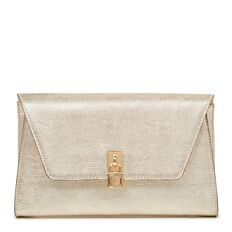 HAVA COLLECTION CLUTCH  GOLD  hi-res
