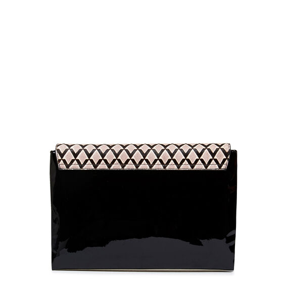 COLLECTION CLUTCH  BLACK MULTI  hi-res