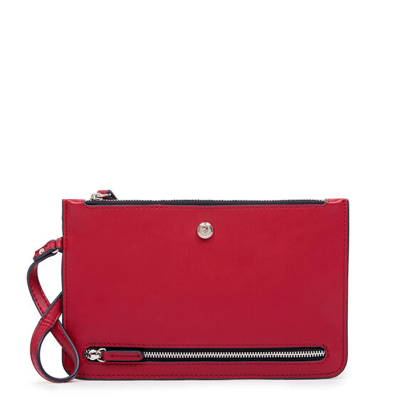 TABLE TREASURES TRAVEL POUCH  RED  hi-res