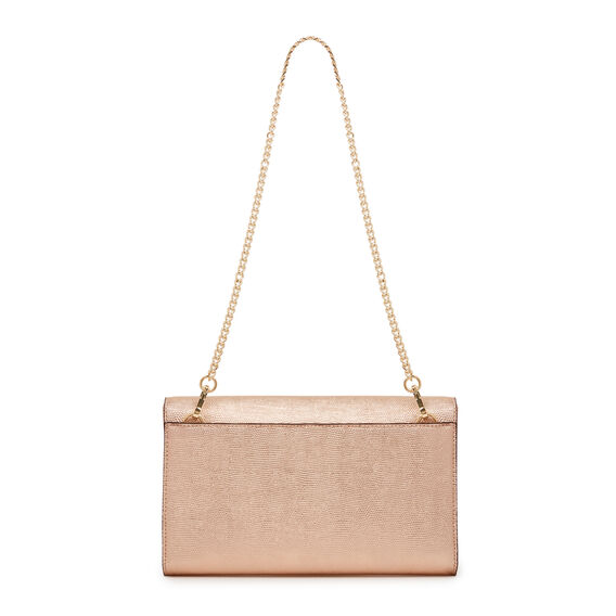 HAVA COLLECTION CLUTCH  ROSE GOLD  hi-res