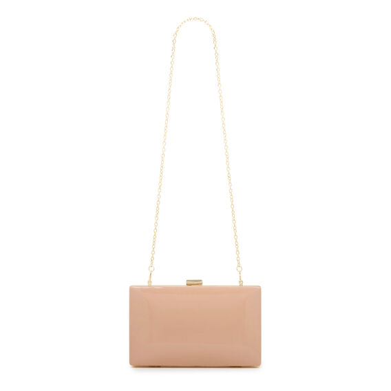 ISMAY COLLECTION CLUTCH  NUDE  hi-res