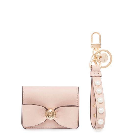 GIFTING CARD CASE AND KEY FOB  ROSE  hi-res