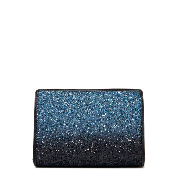 TABLE TREASURES TOP ZIP WRISTLET  BLUE BLACK  hi-res