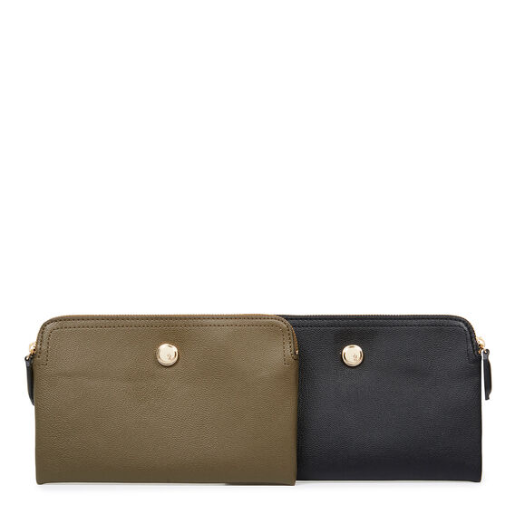 TABLE TREASURES DOUBLE POUCH  GREEN  hi-res