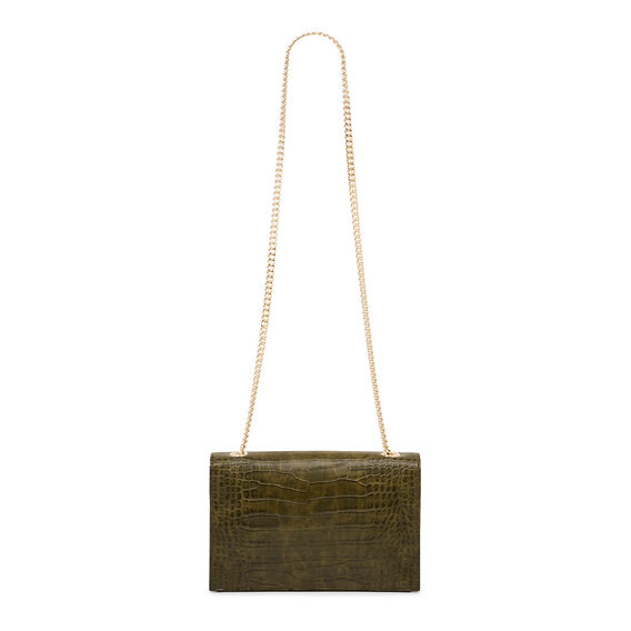 ANNDI COLLECTION CLUTCH  GREEN  hi-res