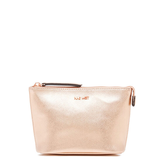 COSMETIC POUCH SMALL  ROSE GOLD  hi-res