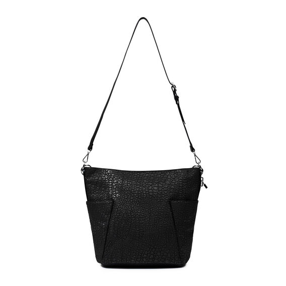 LOCK UP HOBO BAG  BLACK  hi-res