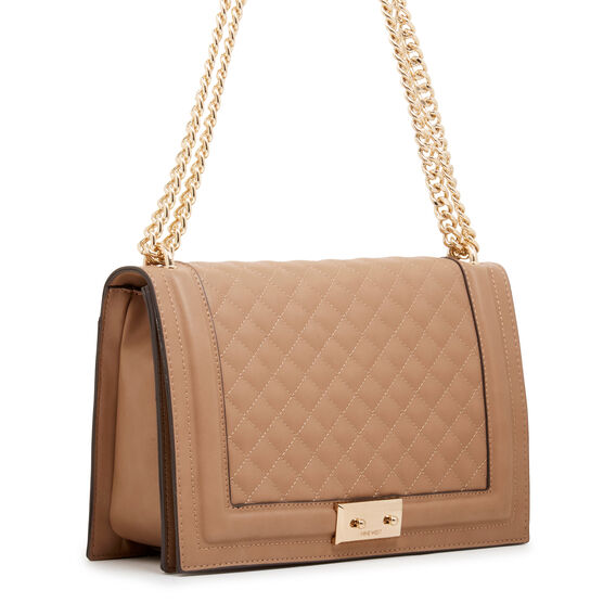 INAYA SHOULDER BAG  DARK WHEAT  hi-res
