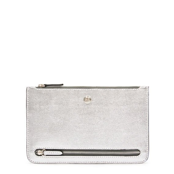 TABLE TREASURES TRAVEL POUCH  SILVER  hi-res
