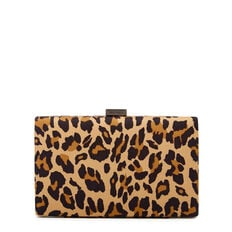 LARGE ISMAY COLLECTION CLUTCH  LEOPARD  hi-res