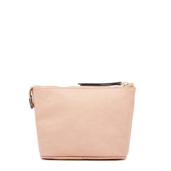 COSMETIC POUCH SMALL  BARELY NUDE  hi-res