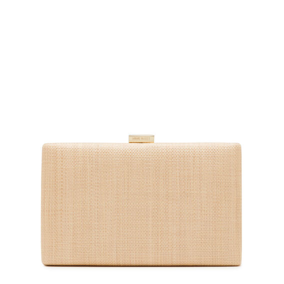 ISMAY COLLECTION CLUTCH  NATURAL  hi-res