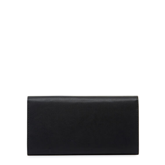 SMALL ACCESSORIES CONTINENTAL WALLET  BLACK  hi-res