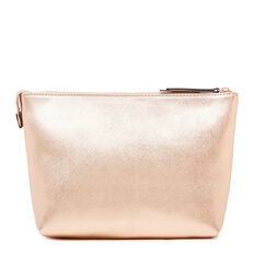 COSMETIC POUCH LARGE  ROSE GOLD  hi-res
