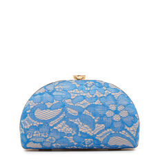 DOME CLUTCH  BLUE MULTI  hi-res