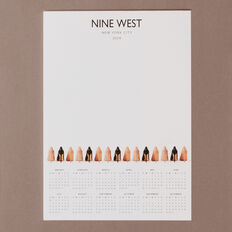 NINE WEST NOTEPAD  WHITE  hi-res