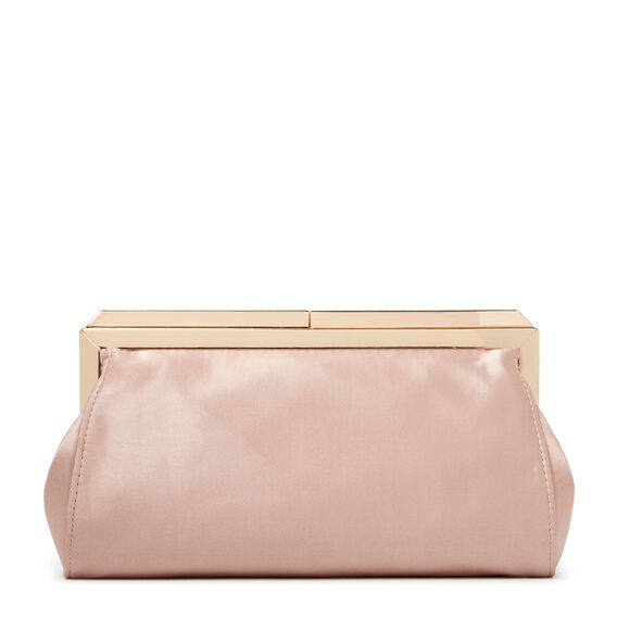 ALMA COLLECTION CLUTCH  CHAMPAGNE  hi-res