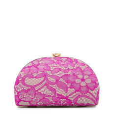 DOME CLUTCH  PINK MULTI  hi-res