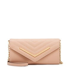 SMALL ACCESSORIES CROSSBODY WALLET  BARELY NUDE  hi-res
