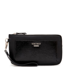 SMALL ACCESSORIES MODERN WRISTLET  BLACK  hi-res