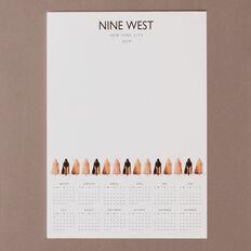 NINE WEST NOTEPAD  WHITE  hi-res