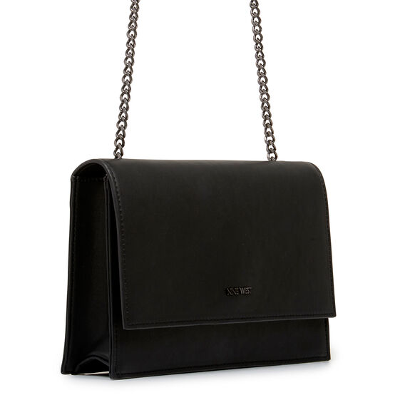 ANNDI COLLECTION CLUTCH  BLACK  hi-res