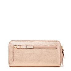 TABLE TREASURES ZIP AROUND WALLET  ROSE GOLD  hi-res