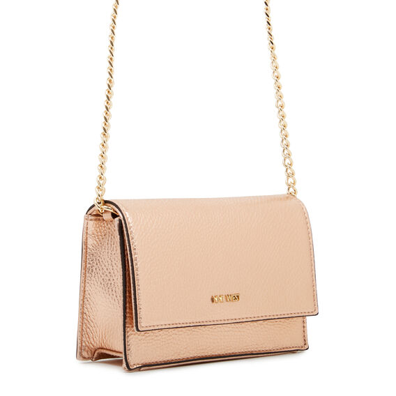 MINI ANNDI COLLECTION CLUTCH  ROSE GOLD  hi-res