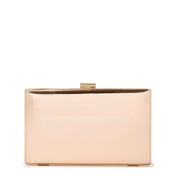 ISMAY COLLECTION CLUTCH  ROSE GOLD  hi-res