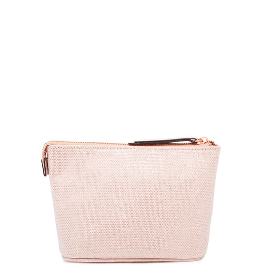 COSMETIC POUCH SMALL  LIGHT PINK  hi-res