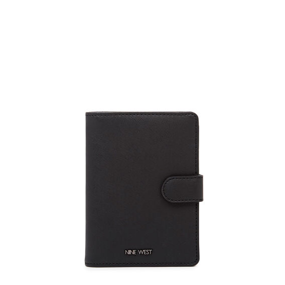 ADDRIA TRAVEL WALLET  BLACK  hi-res