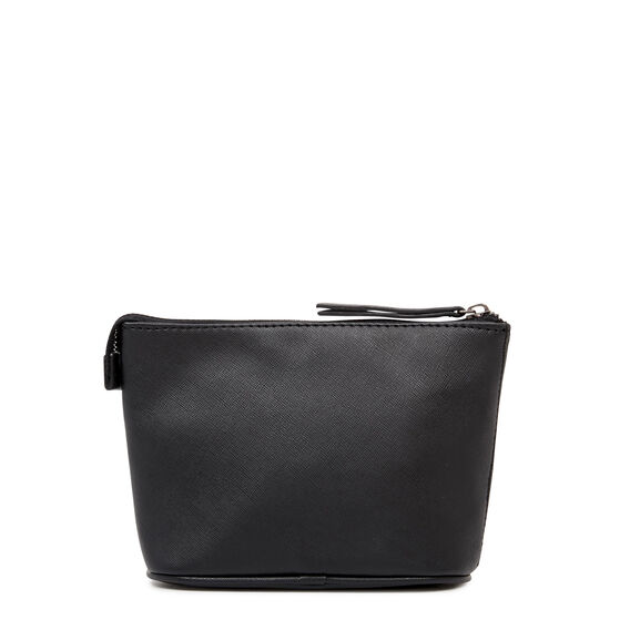 COSMETIC POUCH SMALL  BLACK  hi-res