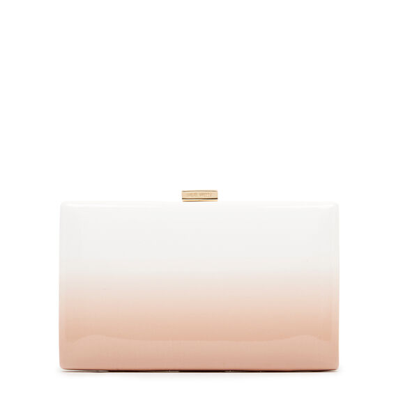 LARGE ISMAY COLLECTION CLUTCH  BARELY NUDE MULTI  hi-res
