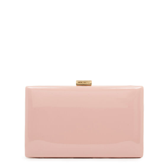 LARGE ISMAY COLLECTION CLUTCH  MODERN PINK  hi-res