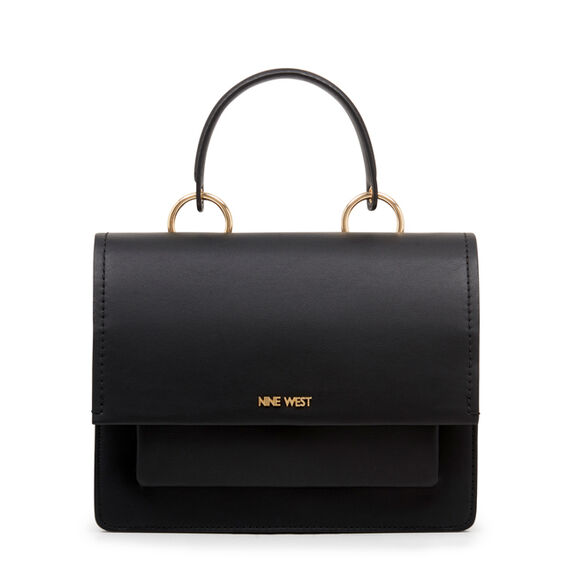 CRISELDA SATCHEL  BLACK  hi-res