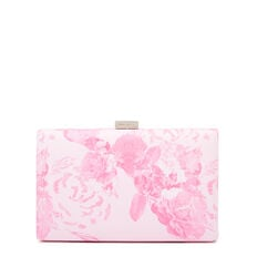 LARGE ISMAY COLLECTION CLUTCH  PINK MULTI  hi-res